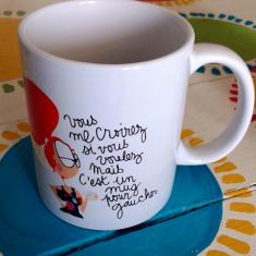 mug pour gaucher mug humoristique