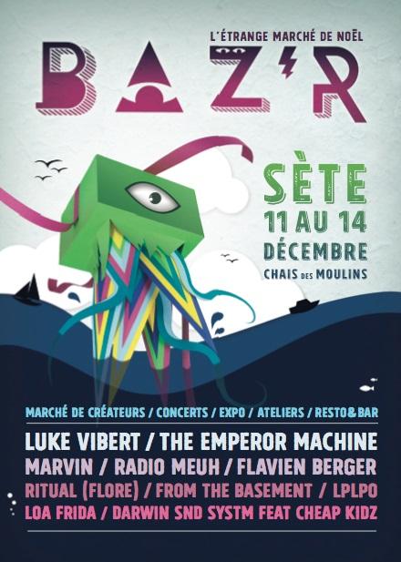 BAZR - L'Etrange marché de Noel 2014